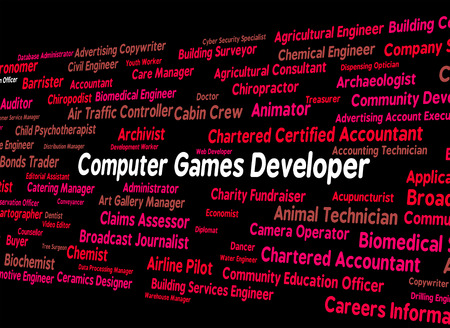play time: Computer Games Developer Meaning Play Time And Computing