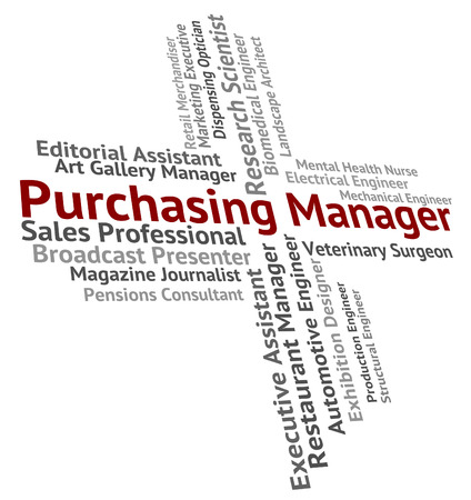 purchasers: Purchasing Manager Representing Work Client And Managing