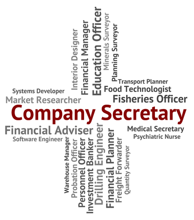clerical: Company Secretary Representing Clerical Assistant And Administrator