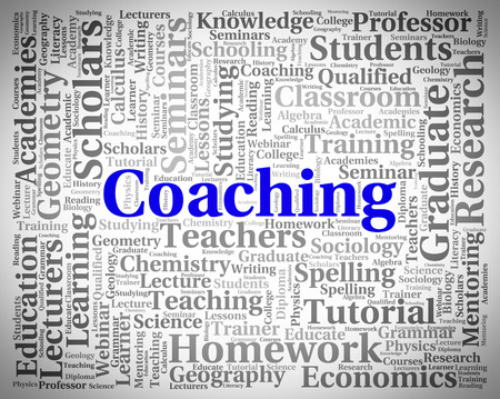 taught: Coaching Word Indicating Give Lessons And Educate
