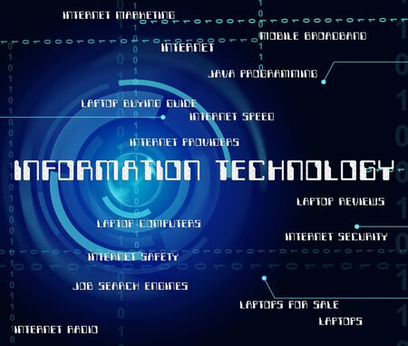 information technology: Information Technology Meaning Words Pc And Computers