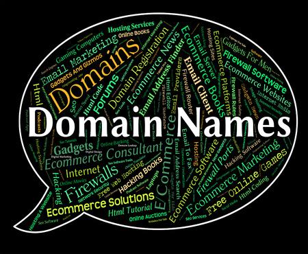 domains: Domain Names Indicating Domains Realm And Designation