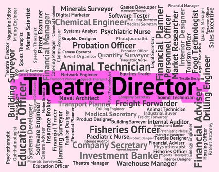 overseer: Theatre Director Meaning Boss Auditorium And Stage