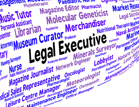 counsel: Legal Executive Showing Queens Counsel And Legally Stock Photo