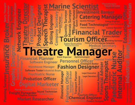 hippodrome: Theatre Manager Representing Hippodrome Job And Position