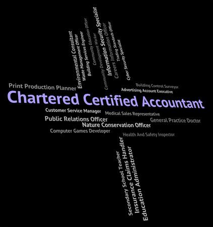 bookkeeper: Chartered Contador Significado cuadrar las cuentas y contabilidad