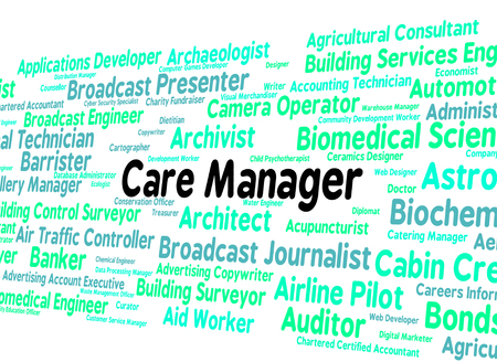 carers: Care Manager Indicating Employee Carers And Word