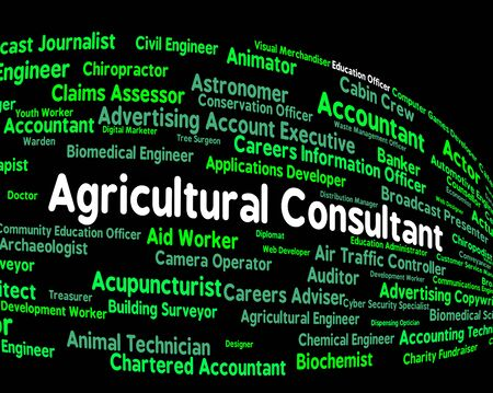 advisers: Agricultural Consultant Showing Word Farms And Jobs