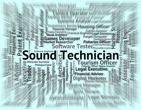skilled: Sound Technician Meaning Skilled Worker And Occupations