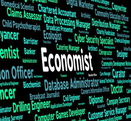 economizing: Economist Job Representing Hiring Financial And Career