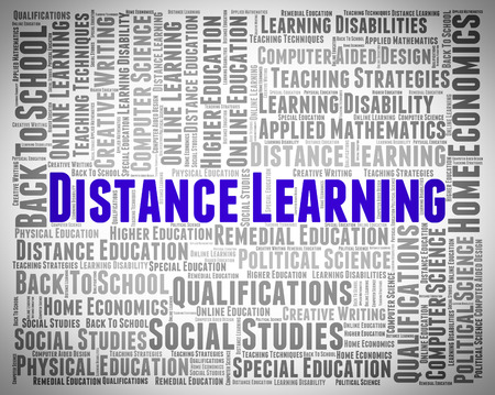 lernte: Distance Learning Words Meaning Correspondence Courses And Learned Lizenzfreie Bilder