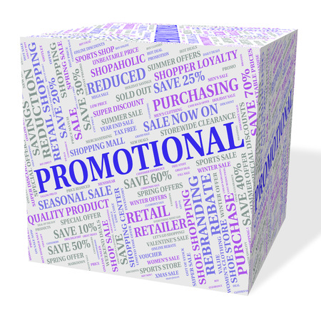 clearance: Promotional Cube Representing Clearance Words And Retail Stock Photo
