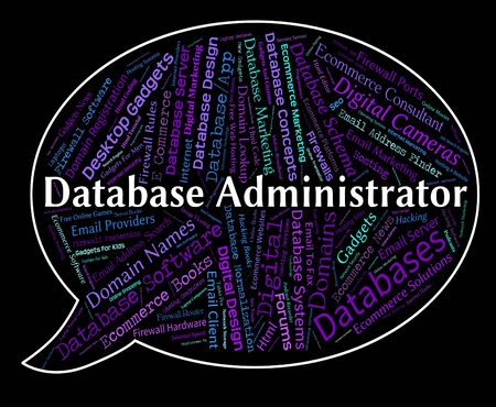 Database Administrator Representing Official Employee And Administration