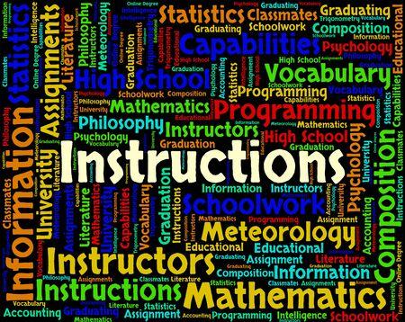instrucciones: En representaci�n de Operaciones de palabras Manual de referencia y manuales