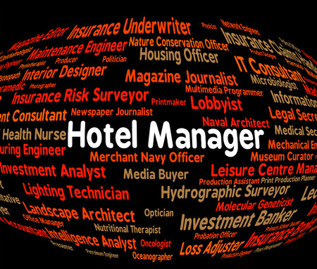 hotel stay: Hotel Manager Meaning Place To Stay And Check In