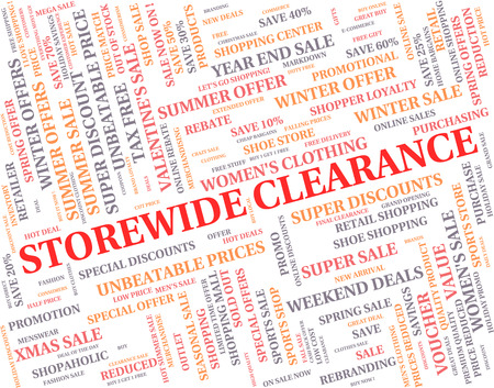 Storewide Clearance Representing The Lot And Entirety