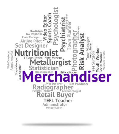 merchant: Merchandiser Job Representing Career Recruitment And Merchant