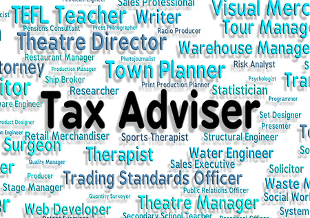 taxpayers: Tax Adviser Representing Position Duty And Work Stock Photo