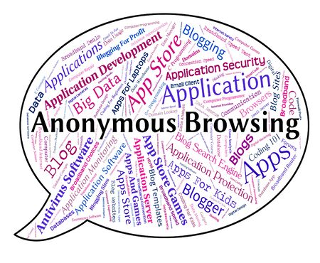 incognito: Anonymous Browsing Representing Unknown Web And Webpage