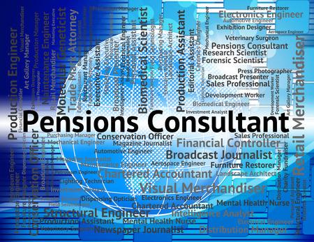 advisers: Pensions Consultant Representing Superannuation Support And Consultants