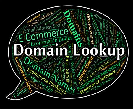 domains: Domain Lookup Indicating Domains Dominions And Finding