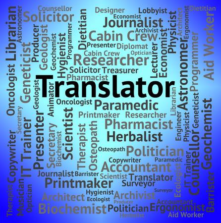 translates: Translator Job Showing Occupations Hiring And Jobs
