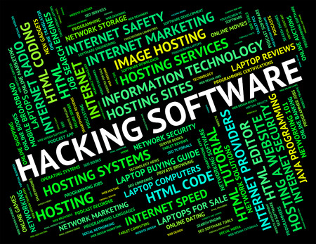 unauthorized: Hacking Software Meaning Unauthorized Cyber And Softwares