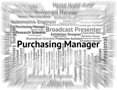 managing: Purchasing Manager Meaning Management Boss And Managing