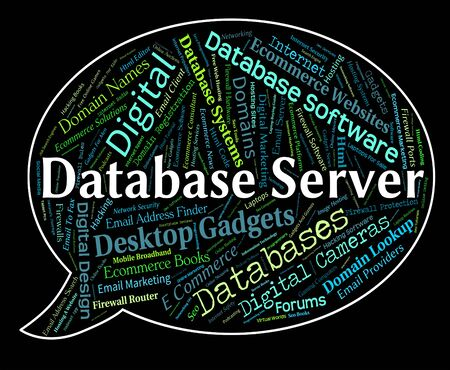 database server: Database Server Meaning Computer Servers And Networking