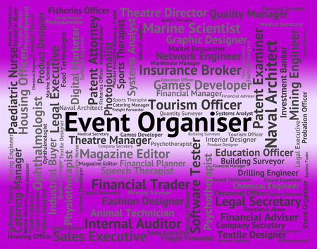 occasions: Event Organiser Showing Occupation Occasions And Recruitment