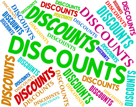 closeout: Discounts Words Indicating Clearance Promotion And Closeout