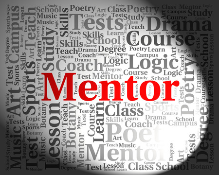 advisers: Mentor Word Representing Mentoring Text And Guide