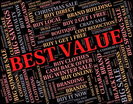 optimal: Best Value Showing Premier Supreme And Foremost Stock Photo