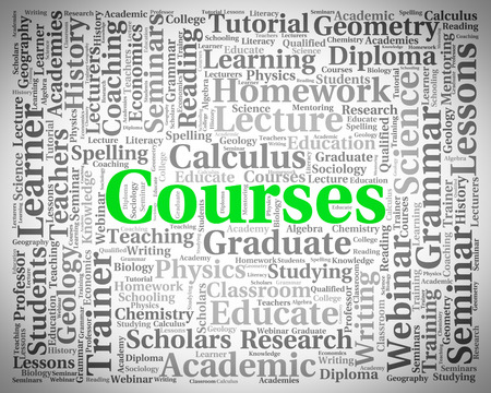 syllabus: Courses Word Meaning Learn Words And School