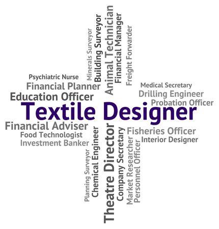 textile designer: Textile Designer Representing Hiring Materials And Recruitment
