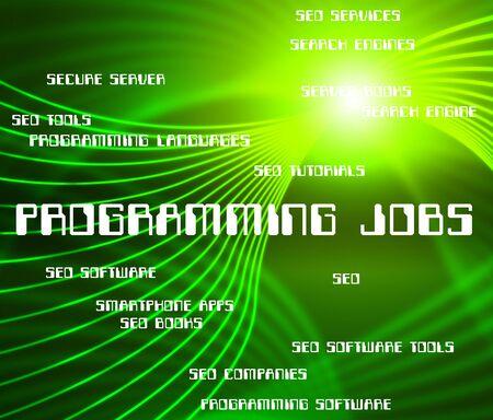 software development: Programming Jobs Indicating Software Development And Employment