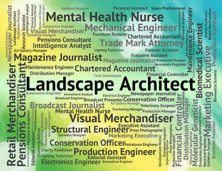 instigator: Landscape Architect Indicating Building Consultant And Landscapes