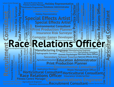 race relations: Race Relations Officer Showing Career Social And Position