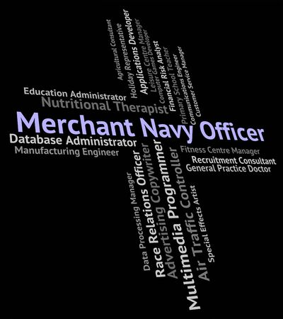 merchant: Merchant Navy Officer Showing Job Aquatic And Jobs