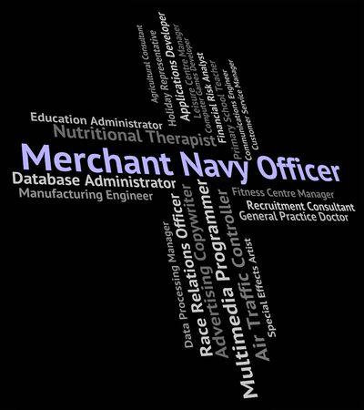 merchant: Merchant Navy Officer Showing Job Aquatic And Jobs