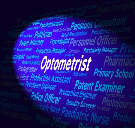 eye doctor: Optometrist Job Meaning Eye Doctor And Research