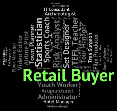 buyer: Retail Buyer Representing Word Work And Text