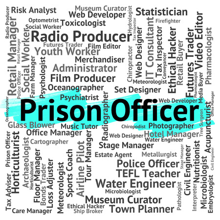 Prison Officer Showing Penal Institute And Hiring
