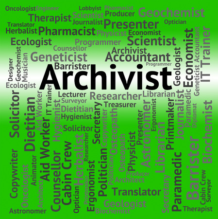 curator: Archivist Job Meaning Archive Employee And Occupation