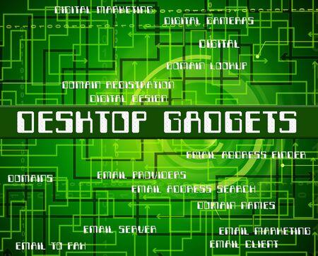 mod: Desktop Gadgets Showing Mod Con And Appliance