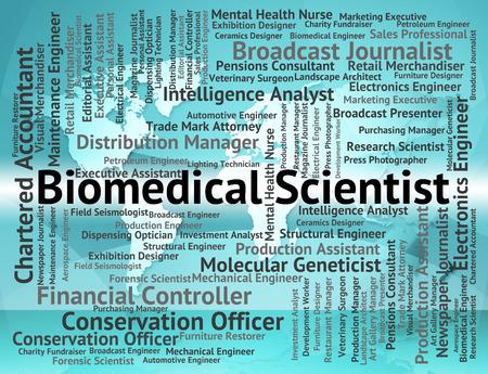 biomedical: Biomedical Scientist Indicating Employment Hiring And Job