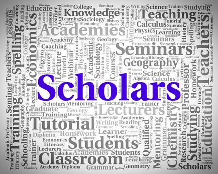scholars: