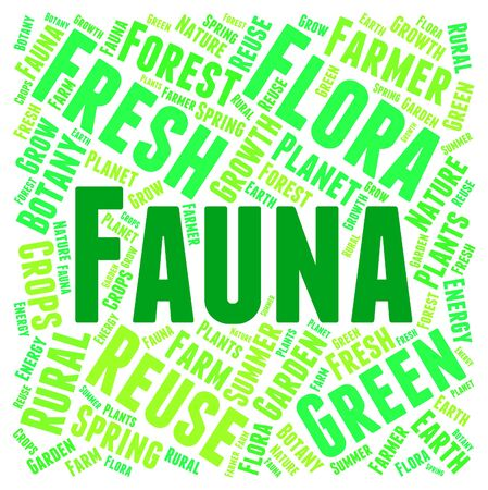 zoology: Fauna Word Meaning Animal Life And Zoology