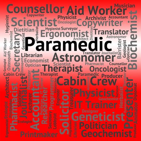 paramedic: Paramedic Job Meaning Emergency Medical Technician And Jobs Employment