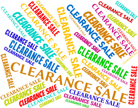 closeout: Clearance Sale Meaning Discounts Closeout And Promotional